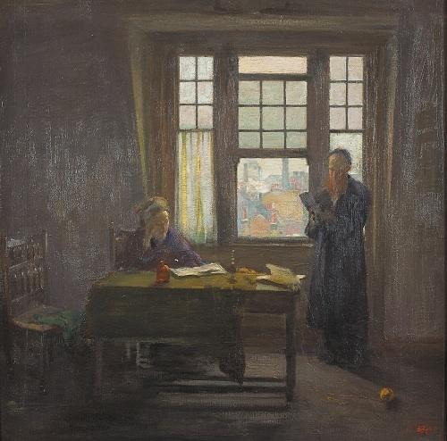 , 'Sabbath Afternoon,' ca. 1909-1910, Ben Uri Gallery and Museum