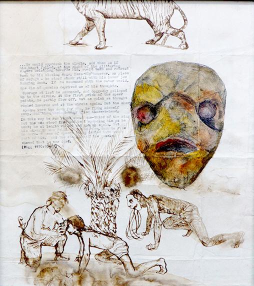 , 'Study of The Rampog Siluman (Djadi-djadian Matjan),' , The Columns Gallery