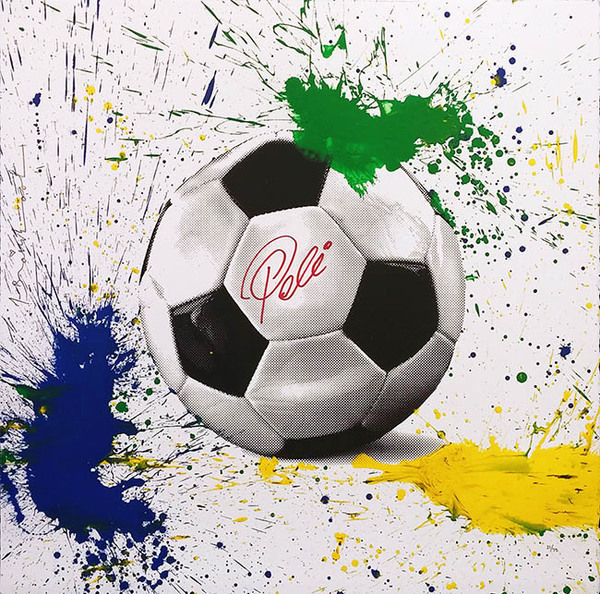 Mr. Brainwash, 'THE KING PELE', 2016, Marcel Katz Art