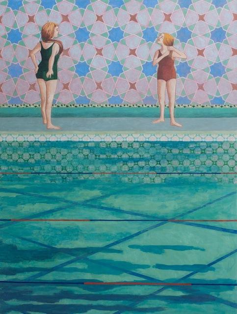 , 'Poolside ,' 2017, Long & Ryle