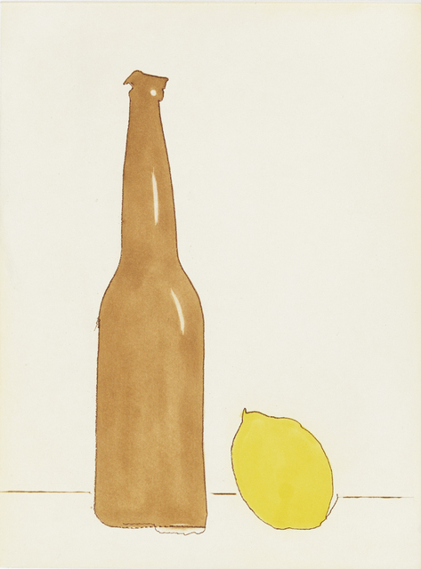 , 'Beer with Lemon,' 2017, Crown Point Press