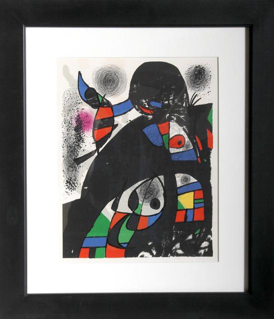 Joan Miró, 'San Lazarro', 1975, Print, Lithograph, RoGallery
