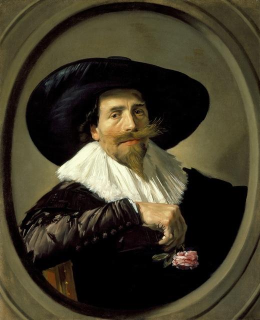 Frans Hals, 'Portrait of Pieter Tjarck', ca. 1635 -1638, Los Angeles County Museum of Art