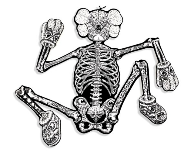 KAWS, 'KAWS x MARK DEAN VECA Companion Skeleton', 2008, 5ART GALLERY