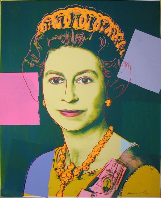 , 'Reigning Queens: Queen Elizabeth,' 1985, Adamar Fine Arts