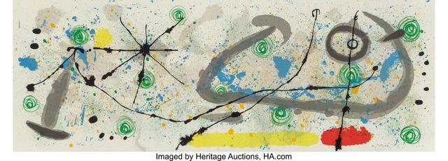 Joan Miró, 'Le lezard aux plumes d'or, pl.8', 1967, Heritage Auctions