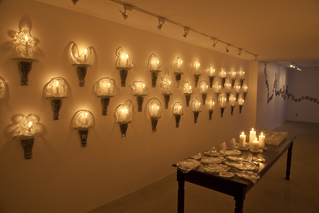 , 'Installation View: Sconces, Platters, Tumblers,' 2015, Cade Tompkins Projects