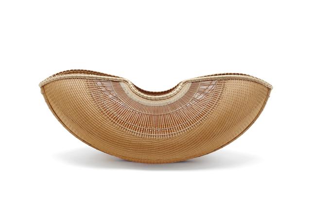 Tanabe Chikuunasai IV, 'Sail Wind, Boat shape Flower basket 20 0411', 2019, Design/Decorative Art, Bamboo, Yumekoubou Antique