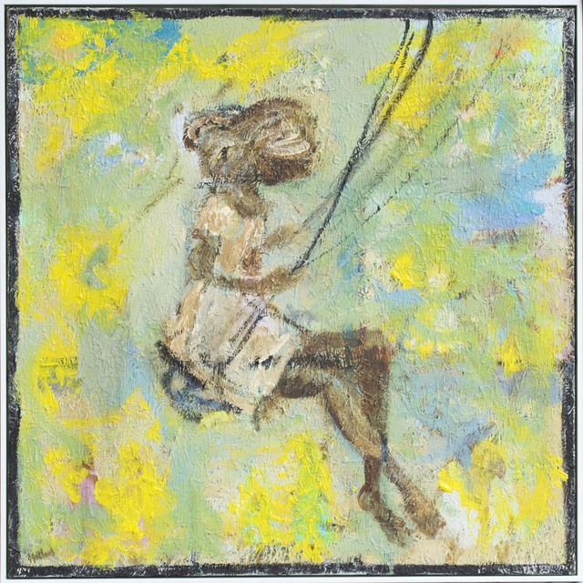 , 'Girl on a swing ,' 2014, Wentworth Galleries