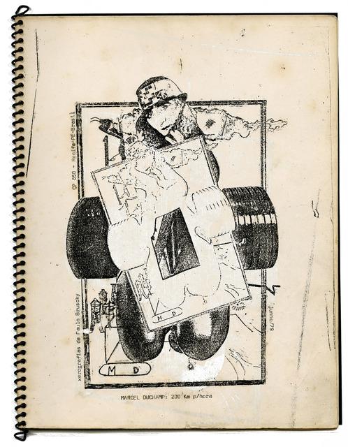 , 'Marcel Duchamp a 200 km por hora,' 1979, Galeria Nara Roesler