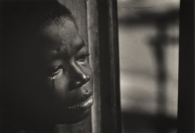", 'Untitled (from the Life Magazine photo essay ""A Man of Mercy""),' 1954, Robert Klein Gallery"