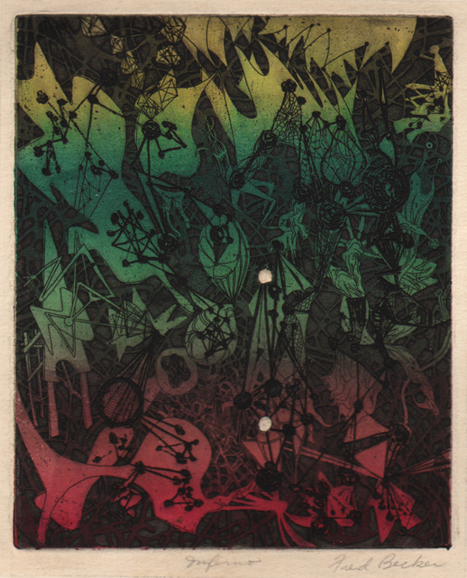 , 'Inferno,' 1946, Dolan/Maxwell