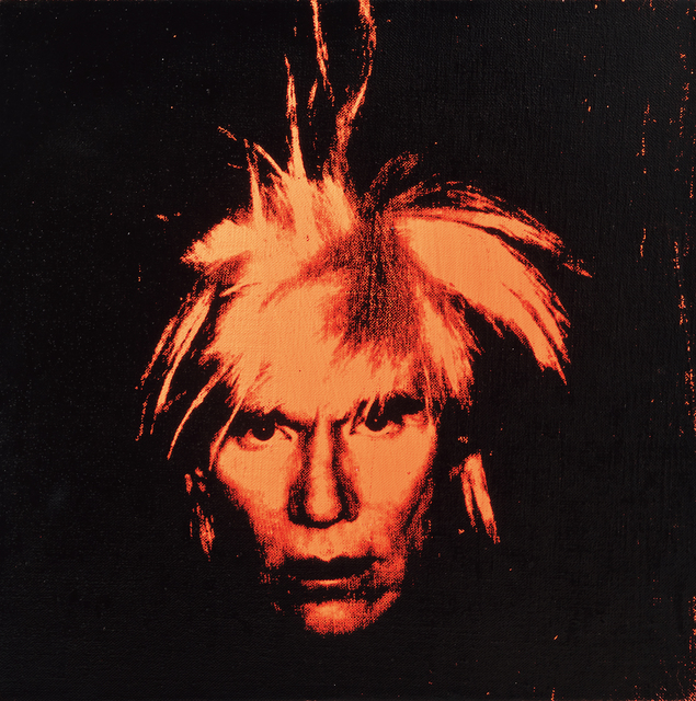 Andy Warhol, 'Self Portrait', 1986, Seoul Auction