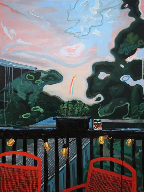 , 'Patio Lanterns and Too Many Manhattans ,' , Bau-Xi Gallery