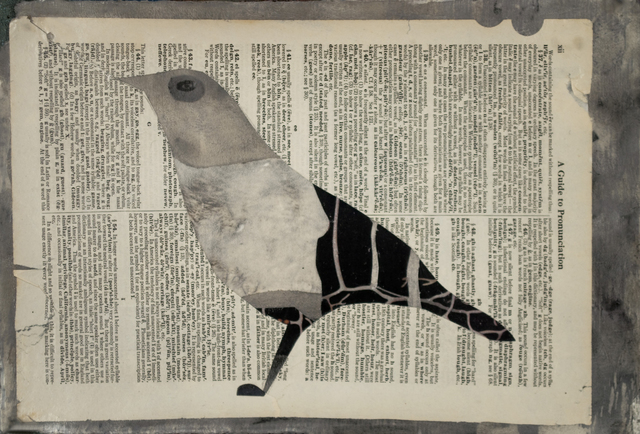, 'Bird with Words,' 2016, Turner Carroll Gallery