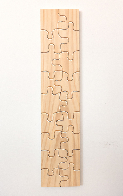 , 'Untitled (wood puzzle) ,' 2016, The Schoolhouse Gallery