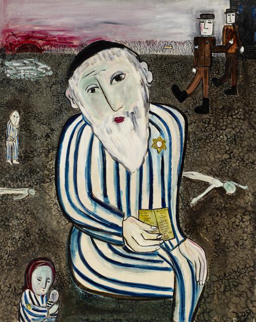 , 'My Grandfather in Auschwitz,' 1962, Ben Uri Gallery and Museum