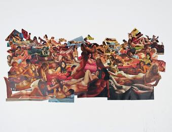 Carol Bove, 'Untitled (Martha Rosler Collage),' 2001-2002, Phillips: New Now (December 2016)
