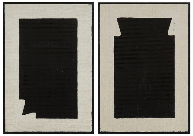 Stefano Cumia, 'SCP Black 2k + SCP Black 2kb (dittico)', 2014, Rizzutogallery