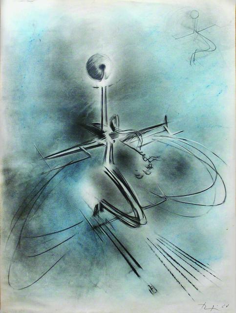 """, 'Astral Trip (""""Viaggio astrale""""),' 1968, Brun Fine Art"""