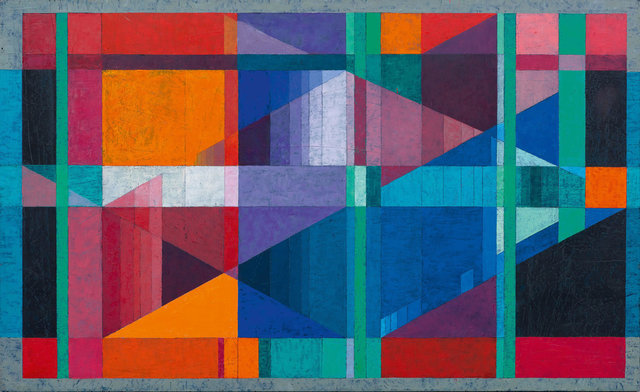 Robert Gessner, 'Untitled', 1964, Painting, Acrylic on fibreboard, Koller Auctions