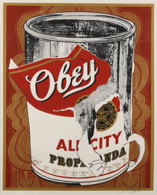 Shepard Fairey, 'Soup Can I', 2005, Chiswick Auctions