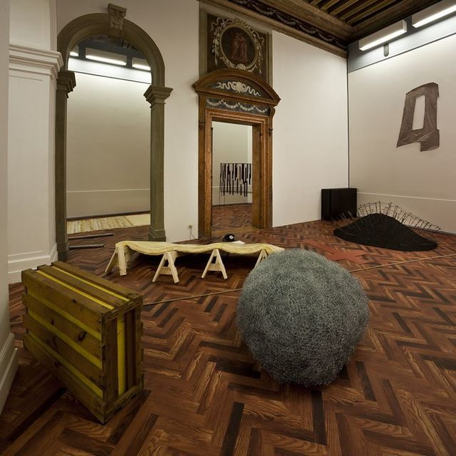 ", '""When Attitudes Become Form: Bern 1969/Venice 2013"" Exhibition View at Fondazione Prada, Venice,' 2013, Fondazione Prada"