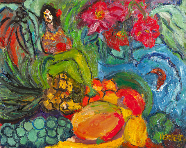 , 'Lady with Fruits, Pineapple,' 2002, Childs Gallery