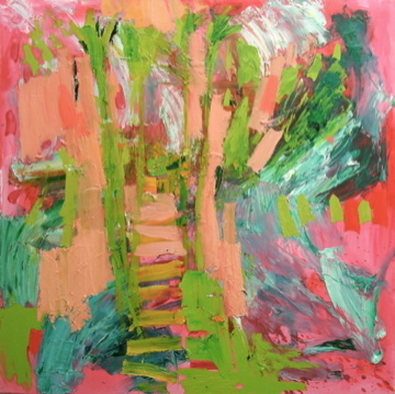 , 'Pink Woods ,' 2009, The Majlis Gallery