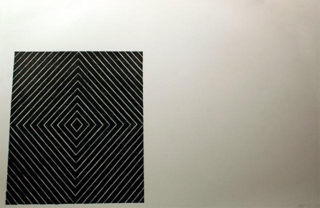 Frank Stella, 'Black Square', 1967, Dean Borghi Fine Art