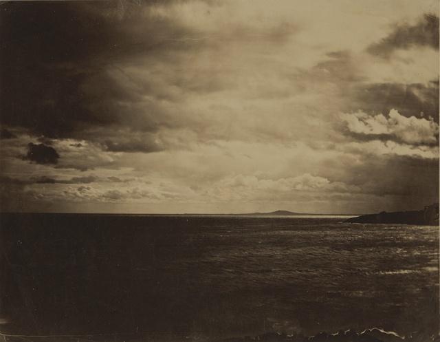 Gustave Le Gray, 'Ciel Chargé - Mer Méditerranée (Cloudy Sky, Mediterranean Sea)', 1857, Sotheby's