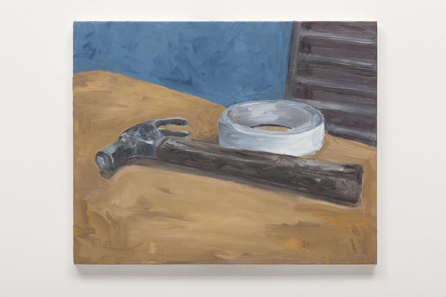 , 'Martelo e fita,' 2013, Galeria Millan
