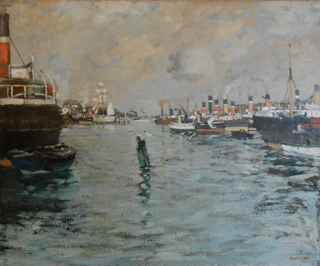 , 'Steamboats on The Clyde,' , Cyril Gerber Fine Art/ Compass Gallery