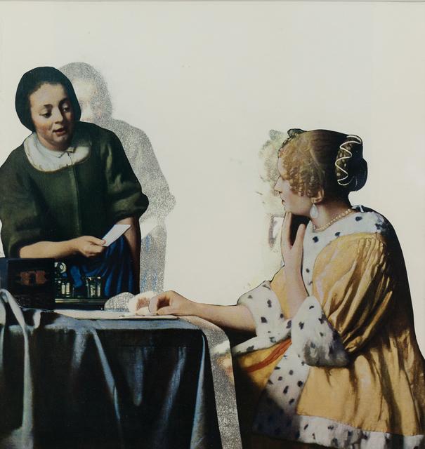, 'Dame avec sa servante tenant une lettre ,' 2014, Keitelman Gallery