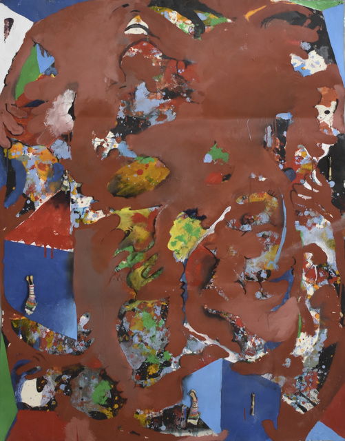 Carlos Villa, 'Untitled (Painting with Collage and Bones)', 1981-1985, Anglim Gilbert Gallery