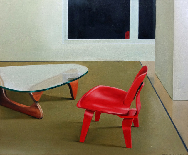, 'The Red Chair and the Glass Coffee Table,' 2014, Russo Lee Gallery