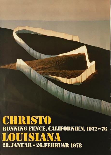 Christo, 'Running Fence Exhibition', 1978, Alpha 137 Gallery