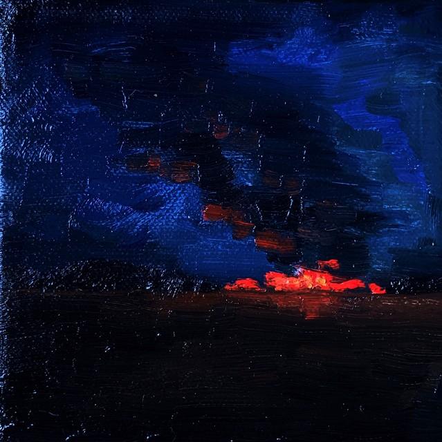 Daliah Ammar, 'Burning 2', 2019, Abend Gallery