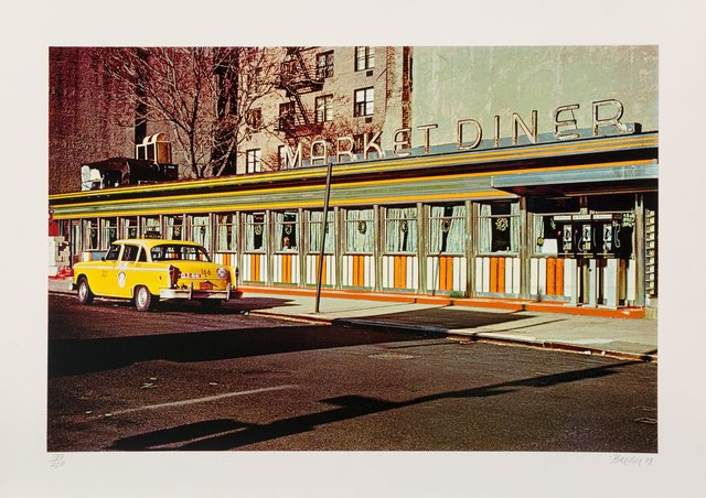 John Baeder, 'Market Diner, from the City Scapes Portfolio', 1979, Heritage Auctions