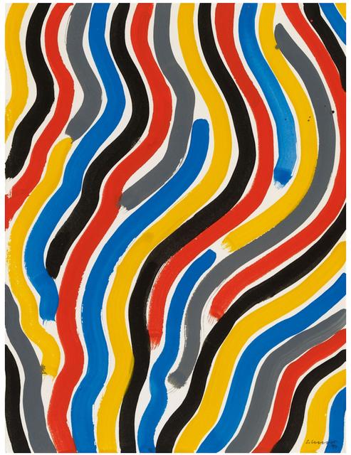, 'Curvy Brushstrokes II,' 1997, BAILLY GALLERY