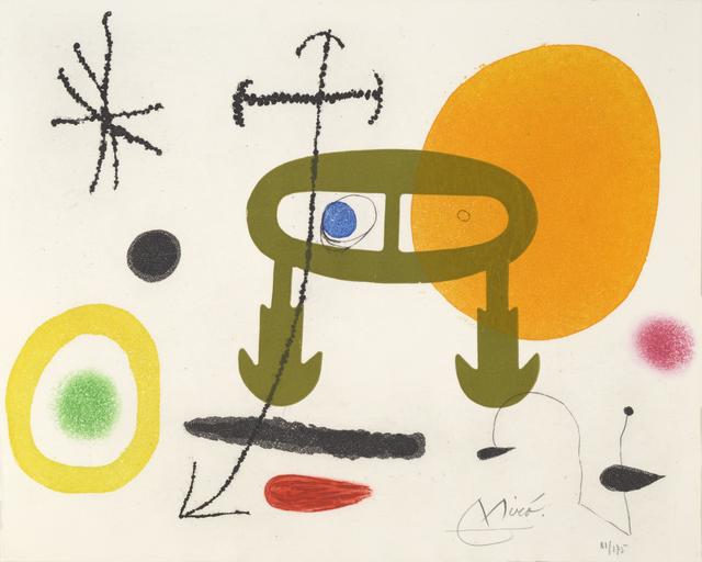 , 'Je n'ai Jamais Appris à Ecrire. I Never Learned to Write,' 1969, William Weston Gallery Ltd.