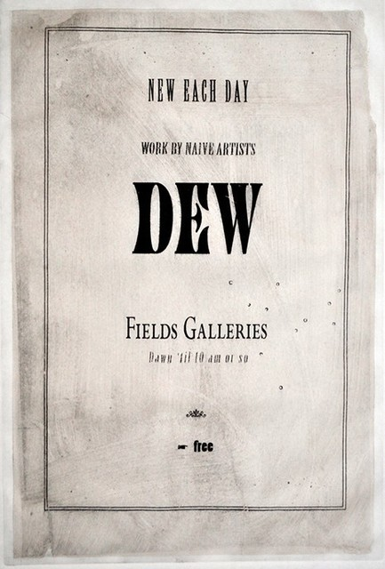 , 'Dew,' ca. 2015, The Schoolhouse Gallery