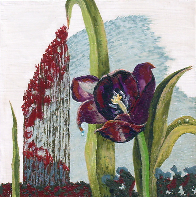 , 'Tulips Dying and Crying IV,' 2011, Amos Eno Gallery