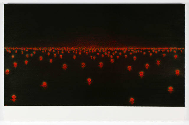 , 'Red Lights,' 2017, GALLERY MoMo