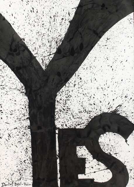 , 'YES,' 2016, DIALECTO Gallery