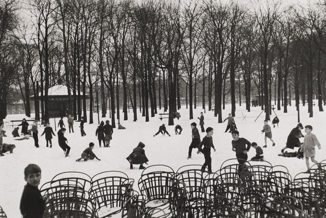 , 'Enfants dans le Premiere Neige,' 1953-printed later, Tracey Morgan Gallery
