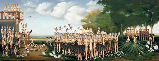 Sandra Scolnik, 'Landscape I', 2004-2005, Painting, Oil on wood panel, Phillips