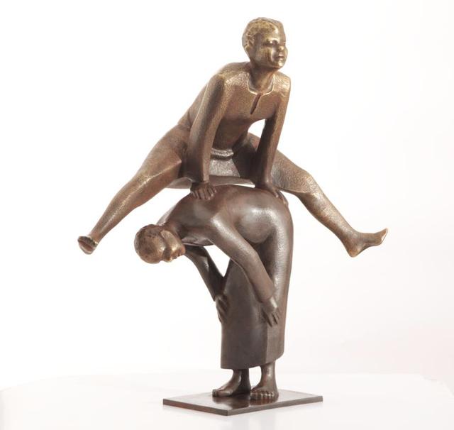 , 'Leapfrog,' 2015, al markhiya gallery