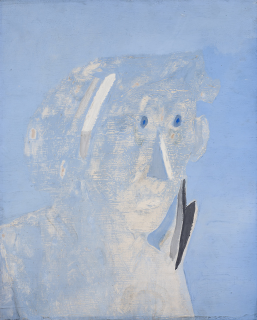 , 'Head of a Man,' 1938-1939, Ben Uri Gallery and Museum
