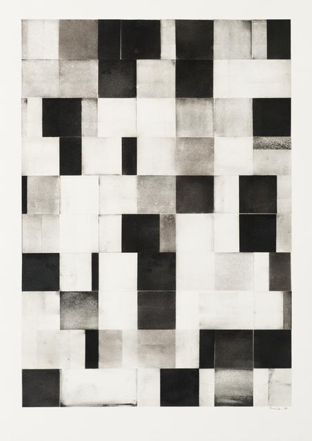 , 'Grid Drawing (large 4) ,' 2015, Bentley Gallery